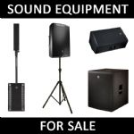 Sound or PA Equipment to Buy